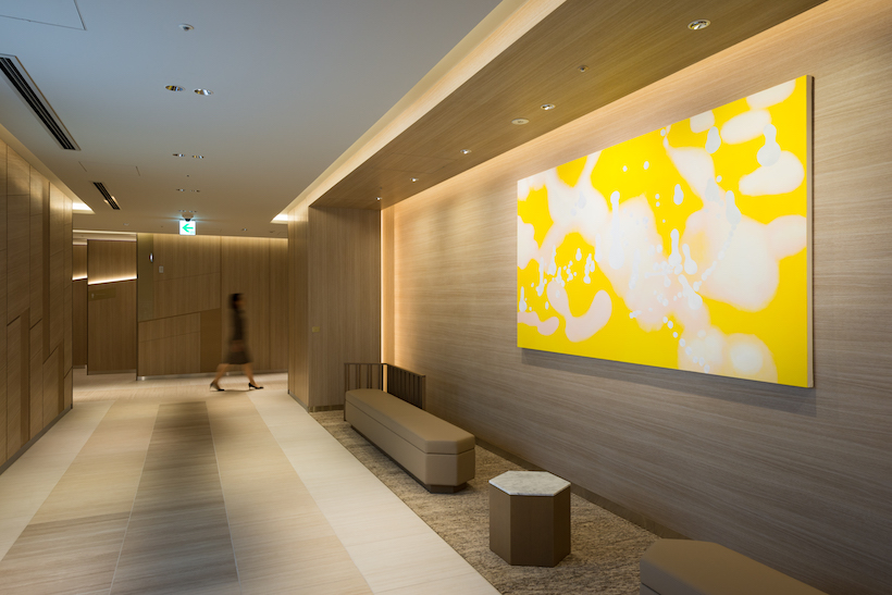Yuumi Domoto's Tami, located at the aisles of GINZA SIX, contributes to the aura of the facility