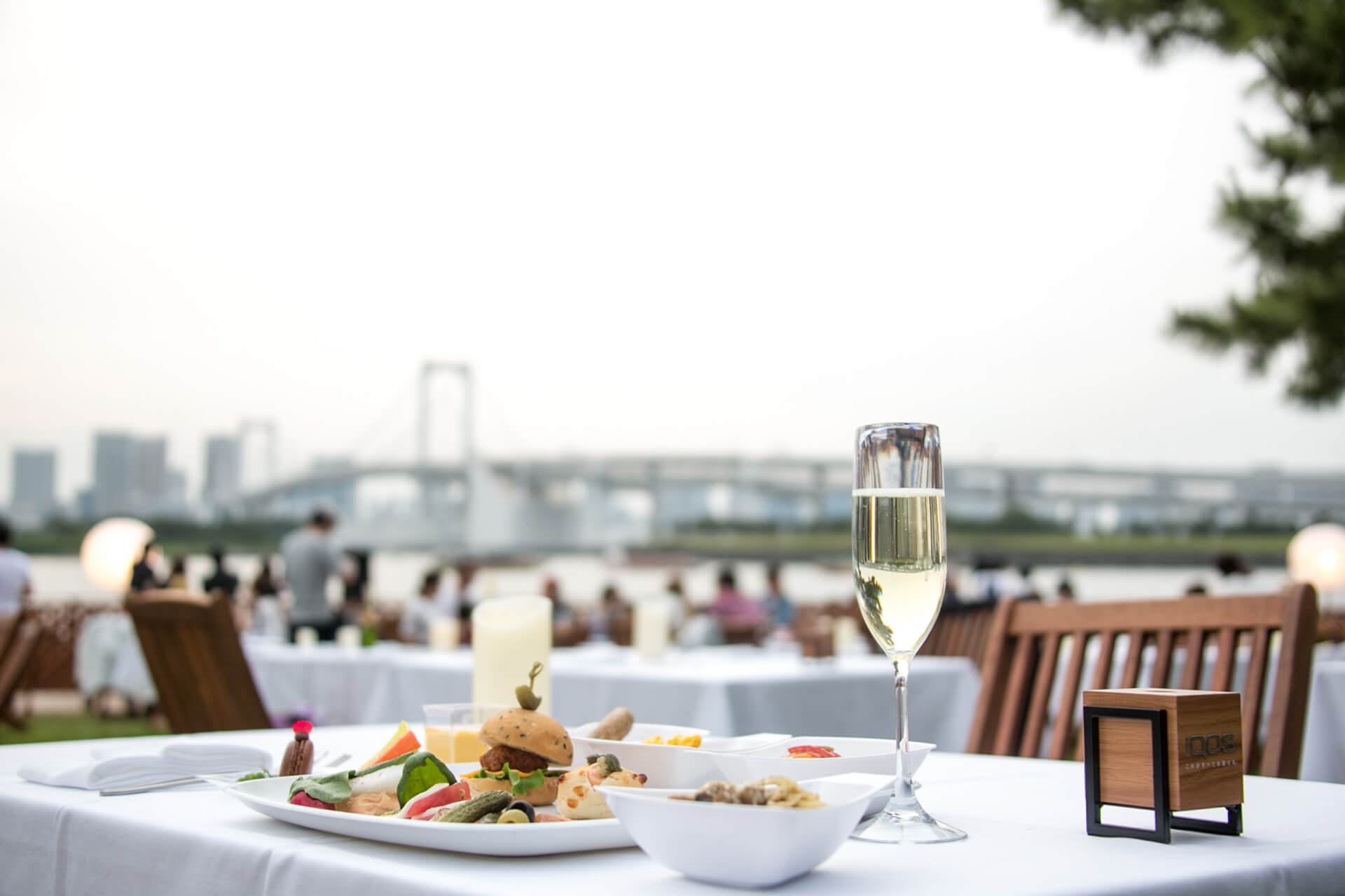 One can enjoy luxurious dinner at Star Island