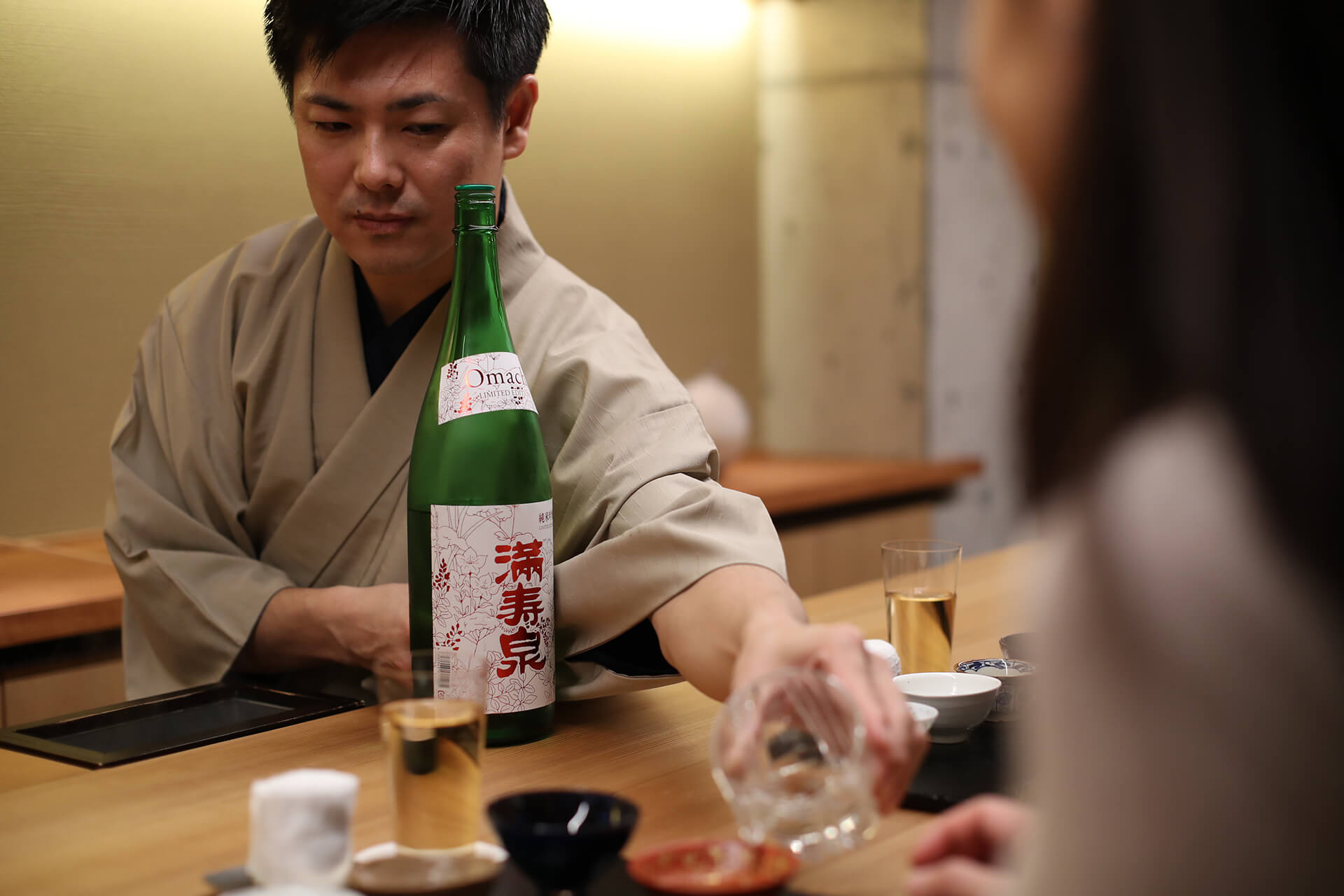 AT FUKUISHO, A KIKISAKESHI CAN OFFER PERFECT SAKE-PAIRING FOR THE KAISEKI CUISINE AND THE ATMOSPHERE
